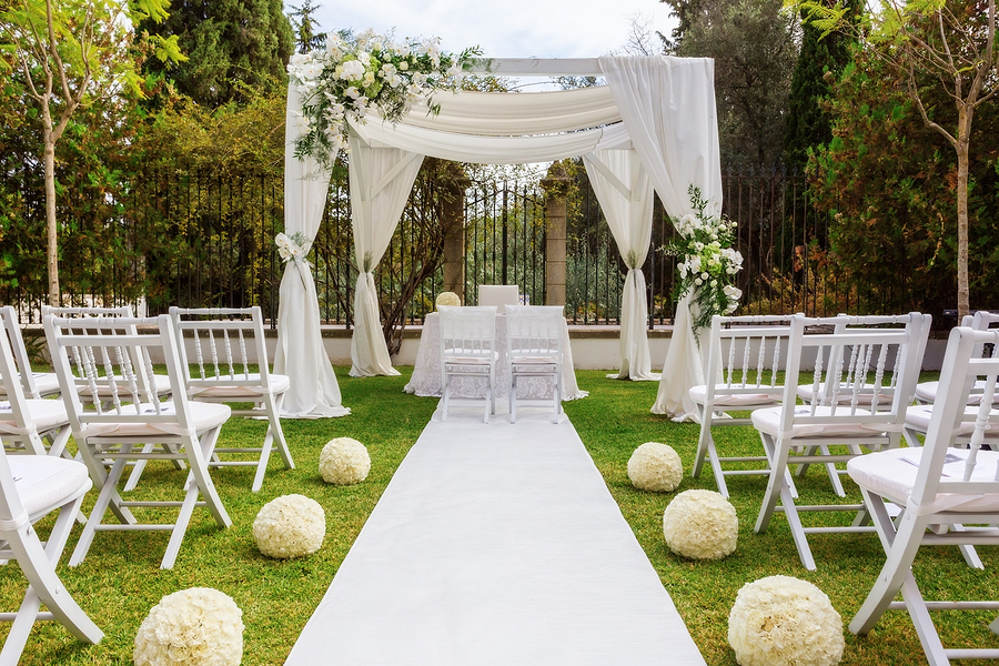 Fall Wedding Venue